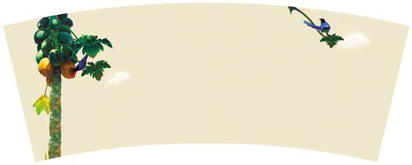 複製畫木瓜馬克杯.bmp