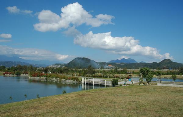鷺鷥湖 景一