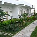 98年民宿成立時房前花園模樣