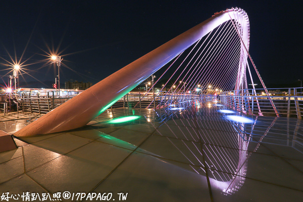 台中北屯|大坑景觀橋|新桃花源橋|情人橋|清新橋(蝴蝶橋)|藍天白雲橋
