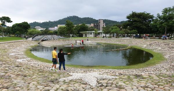 《台中.北屯》新都生態公園-生態池、陽光草坪、野餐、放風箏,親子同遊好去處