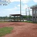 金門縣立棒球場(本壘附近)
