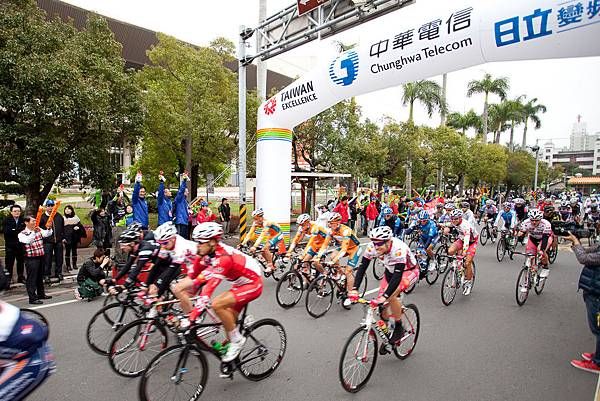 2012國際自由車環台賽第五站正式開賽