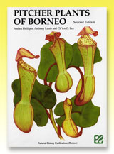 台灣蝕-食蟲書籍-Pitcher Plants of Borneo-封面