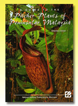 台灣蝕-食蟲書籍-A Guide to the Pitcher Plants of Peninsular Malaysia