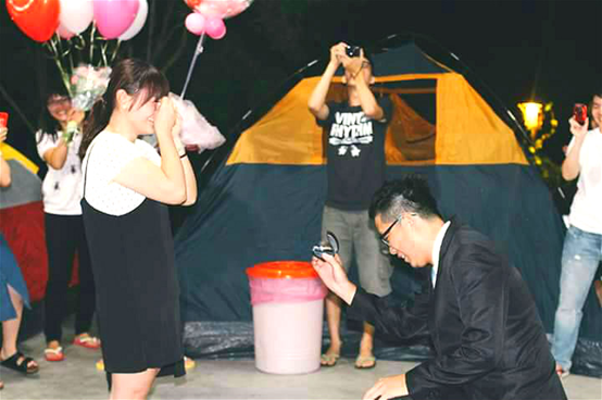 戶外求婚幸福見證5