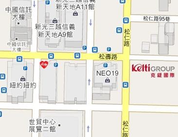 kelti map