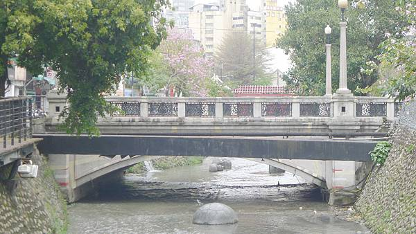 400台中市中山路與綠川橋梁:1898年新盛橋 (2)
