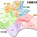 台中市大里區行政區域圖