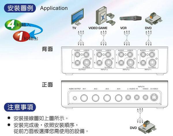 大通 AV-41M AV+S訊號切換器-3.jpg