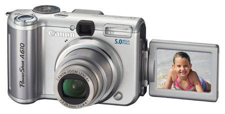 佳能 Canon PowerShot A610 (1)