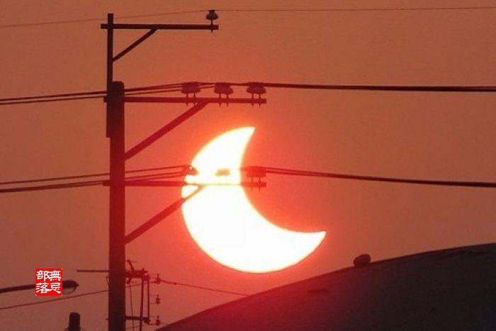 2010年元月15日17時17分37秒日環食
