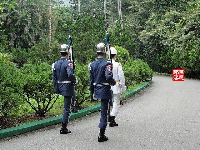 慈湖閱兵儀式