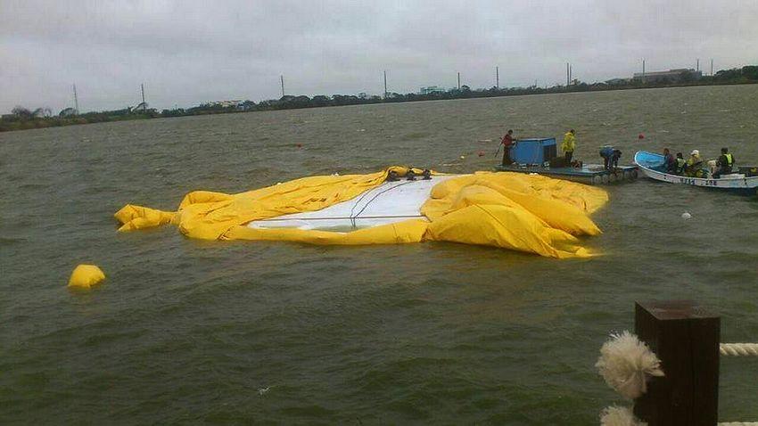 11月1 日爆裂的黃色小鴨