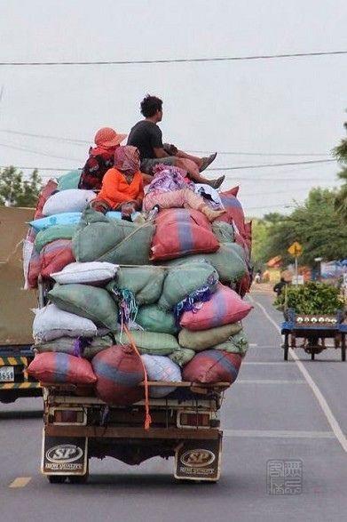 車窗外的神秘世界 - 柬埔寨