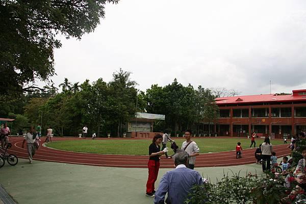 森林小學的操場