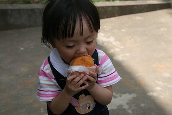 大口吃donut