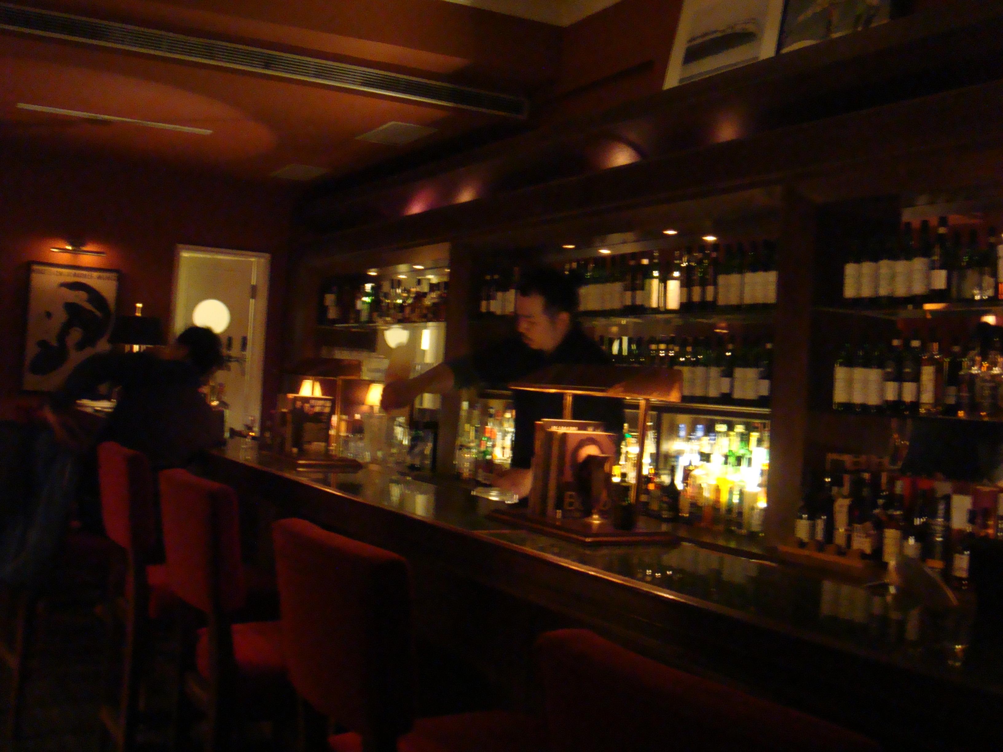 20110218-0219Marsalis Bar 馬沙里斯爵士酒館 吧台