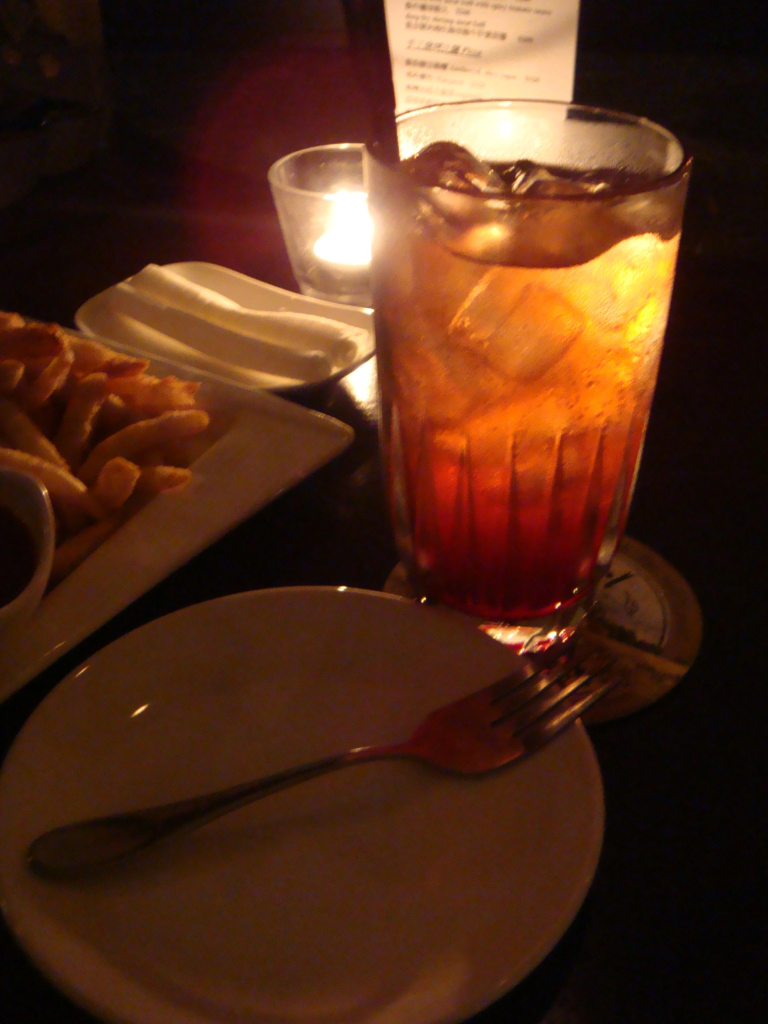 20110218-0219Marsalis Bar 馬沙里斯爵士酒館 皮靴男(Pac Man)無酒精飲料
