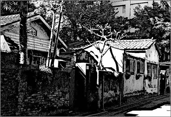 舊台灣總督府山林課宿舍群