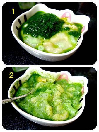 山藥小松菜雞肉通心粉9