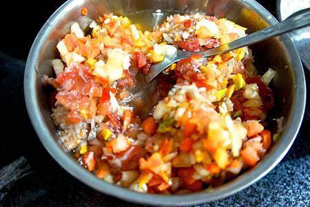 南瓜小魚炊飯2
