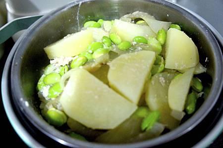 毛豆豆濃湯 3