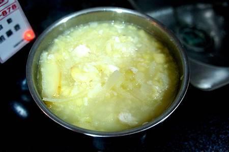 蘋果魚片粥 5