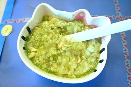 蘋果魚片粥 6