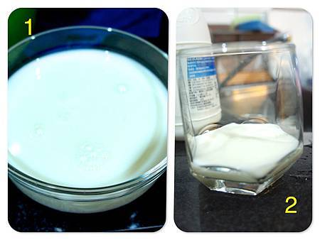 Home made yogurt 1