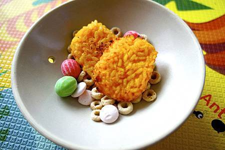 南瓜米餅 5