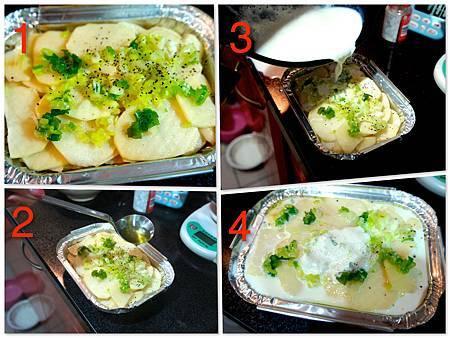 香烤千層馬鈴薯 4