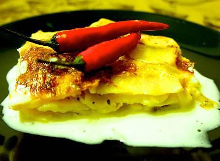 香烤千層馬鈴薯 8