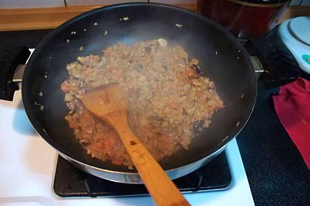 茄汁紫茄肉醬 5