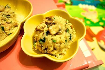 鄉村蘑菇雞肉燉飯 6