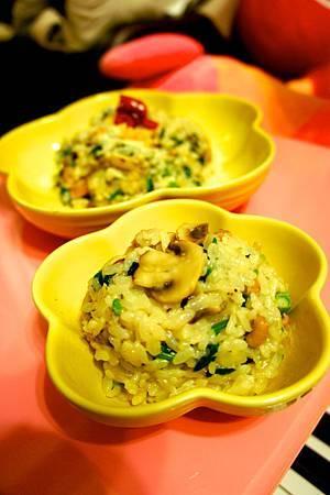鄉村蘑菇雞肉燉飯 9