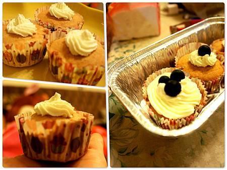 香蕉杯子蛋糕 9