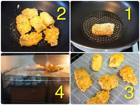 香煎鮭魚佐橘汁優格醬汁 5