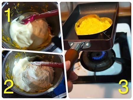 南瓜鬆餅 2