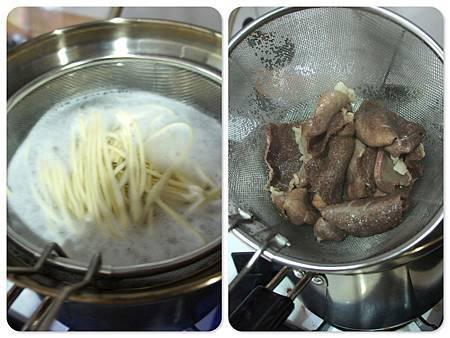 奶油南瓜燴中式牛肉意麵
