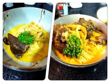 奶油南瓜燴中式牛肉意麵 4