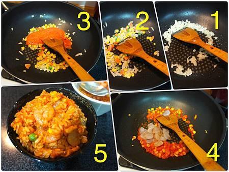 日式蛋包飯 1