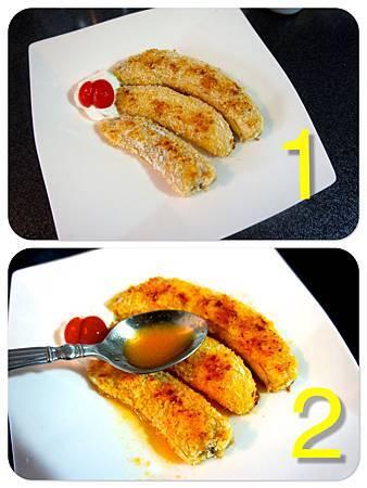 法式香蕉煎餅 3