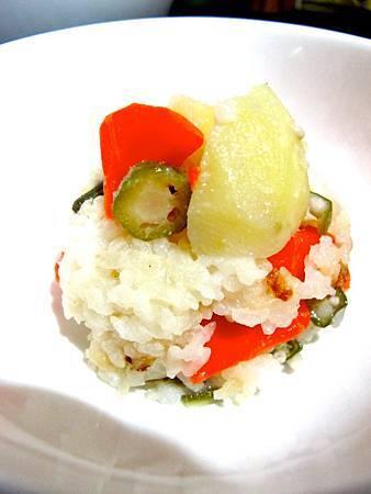 秋葵馬鈴薯燉飯 6