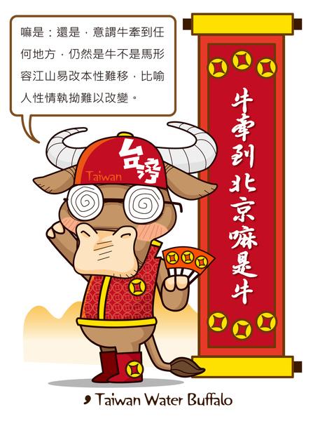 台灣水牛城娃娃-牛牽到北京嘛是牛.jpg