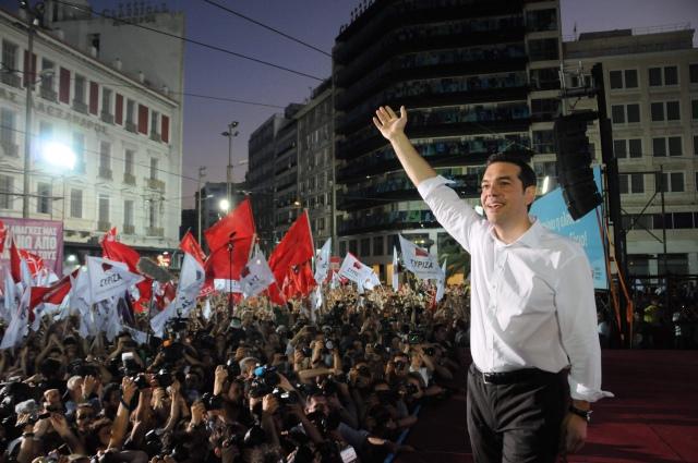 希臘反撙節政黨「激進左翼聯盟」於25日大選中取得佳績