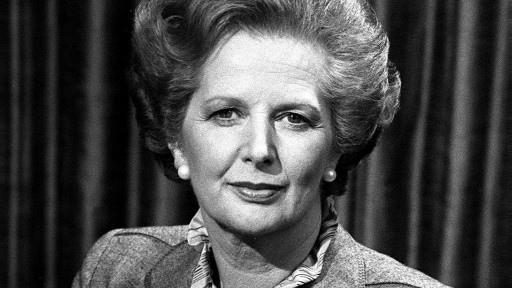 被稱為「鐵娘子」的英國前首相瑪格麗特·柴契爾