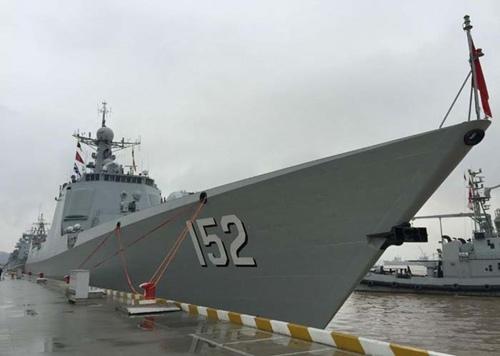 052C型導彈驅逐艦濟南艦將首次參與護航