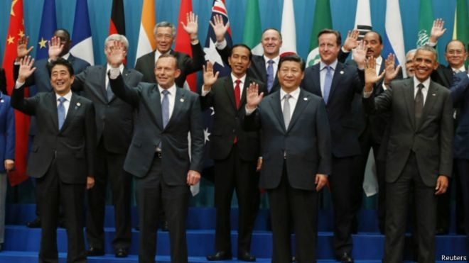 中美兩國的勢力究竟會如何消長