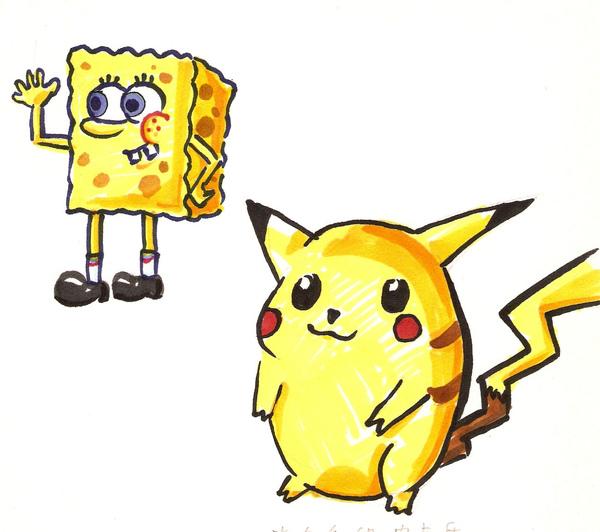 兩個很黃的生物